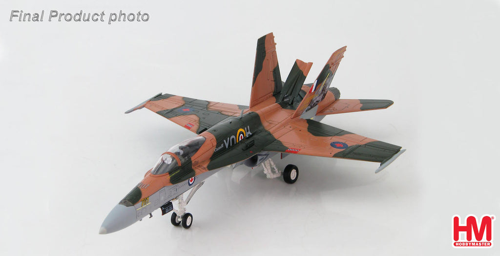 "HOBBYMASTER HA3526 1/72 F-18 RCAF CF-18A Hornet 2015 ""Battle of Britain"" commemorative scheme Diecast Military Aircraft Jet"
