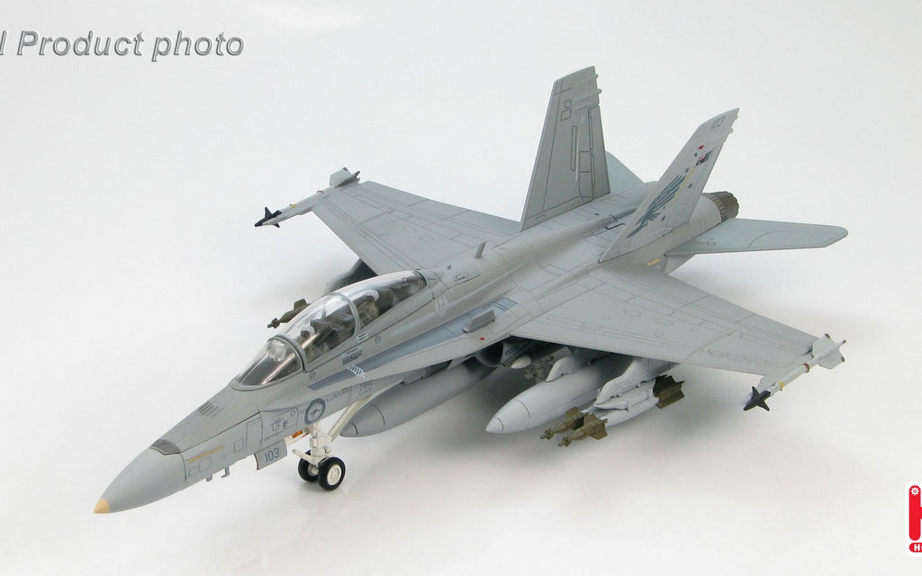 HOBBYMASTER HA3531 1/72 F-18 MD McDonnell Douglas F/A-18B A21-103 3 Squadron. 2006 Diecast Military Jet