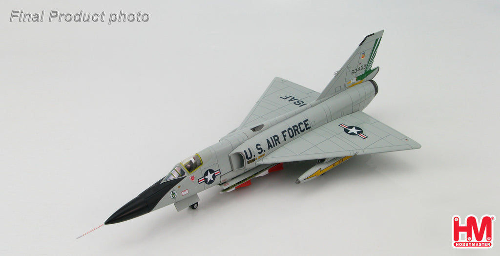 HOBBYMASTER HA3606 1/72 Convair F-106A Delta Dart BuNo 60453 49th FIS Griffiss AFB New York 1986 Military Jet
