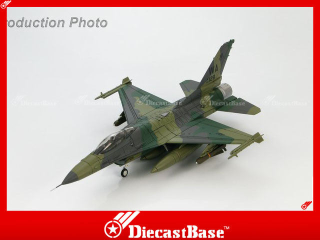 HOBBYMASTER HA3816 1/72 F-16 Lockheed F-16C Fighting Falcon 83-1128 Close Air Support (CAS) VIPERS Military Jet
