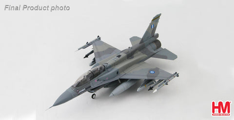 HOBBYMASTER HA3836 1/72 F-16 Lockheed F-16D Fighting Falcon 601 Hellenic Air Force 115 CW 340 Mira Diecast Military Aircraft Jet