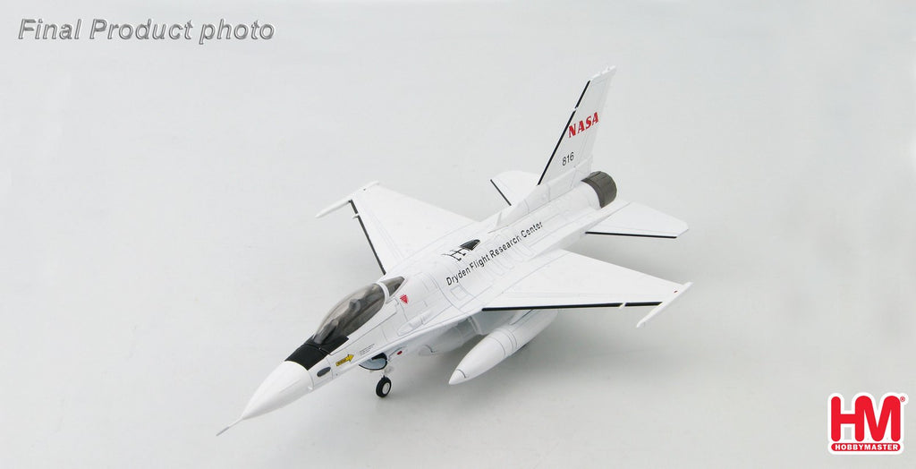 HOBBYMASTER HA3855 1/72 F-16 Lockheed F-16A Block 15 #816 Dryden Flight Research Center NASA 2006 Diecast Military Aircraft Jet