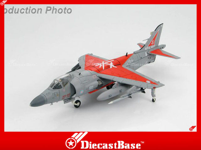"HOBBYMASTER HA4101 1/72 Sea Harrier FA.2 ZD613/R-122 No. 800 Sqn. decommissioning scheme ""SATAN 1"" 31 March 2004  Military Jet"