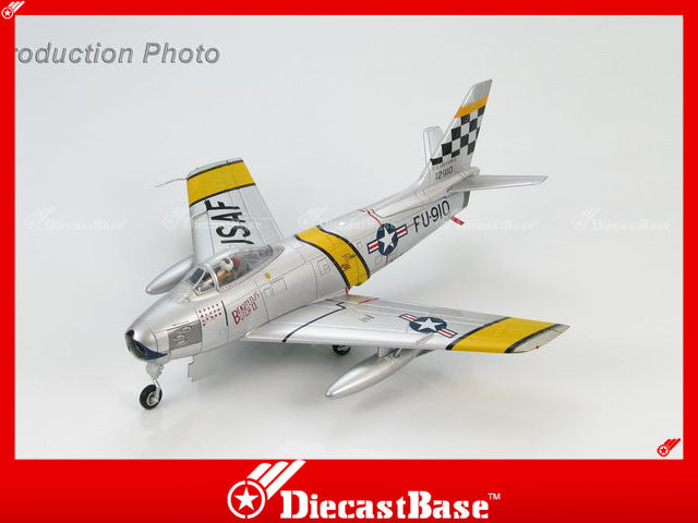 "HOBBYMASTER HA4306 1/72 F-86 North American F-86F Sabre 51-2910 ""Beauteous Butch II"" 39th FIS/51st FIW Suwon AB 1953 Military Jet"