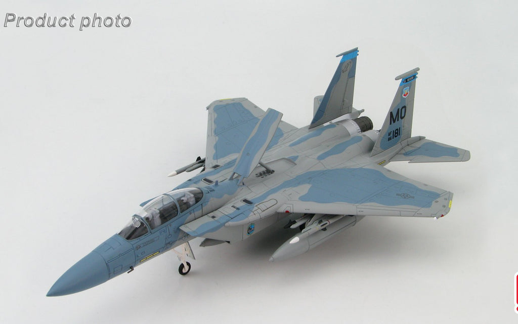 HOBBYMASTER HA4504 1/72 MD F-15 McDonnell Douglas F-15D Eagle 86-0181/MO 390th FS 366th FW Mountain Home AFB 2003 Military Jet