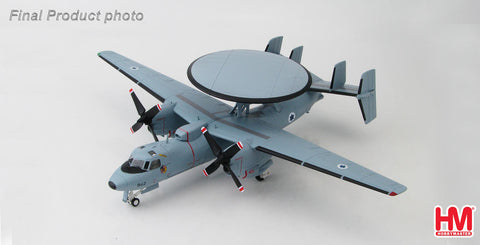 HOBBYMASTER HA4805 1/72 Northrop Grumman E-2C Hawkeye 942 Israeli Defense Force Military Diecast Propeller