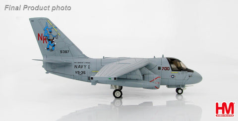 "HOBBYMASTER HA4905 1/72 S-3 Lockheed S-3B Viking ""President George Bush""  Navy 1 VS-35 USS Abraham Lincoln 1st May 2003 Diecast Military Aircraft Jet"