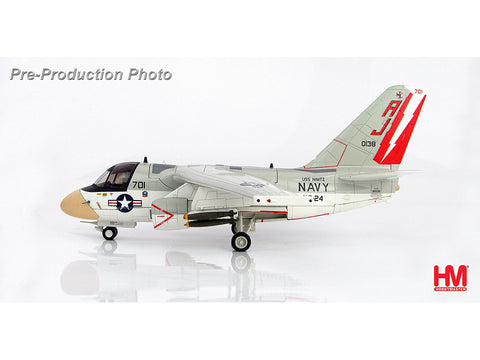 Hobby Master HA4906 1/72 Lockheed S-3A Viking 160138 VS-24 Scouts 1978 Diecast Model Military Aircraft