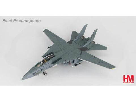 Hobby Master HA5207 1/72 Grummman F-14A BuNo 159610 VF-32 Gulf of Sidra Incident 1989 MIG Killer Diecast Model Military Aircraft