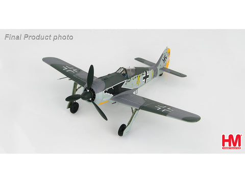 Hobby Master HA7420 1/48 FW 190A-4 9./JG 2 Staffelkapitan Hptm. Siegfried Schnell Feb 1943 Diecast Model Military Aircraft