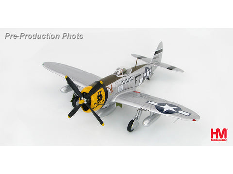 Hobby Master HA8411 1/48 P-47D Thunderbolt Major Glenn Eagleston 353rd FS/354th FG France 1944 Diecast Model Military Aircraft
