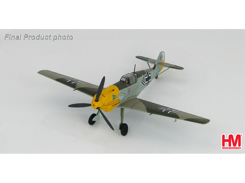 Hobby Master HA8711 1/48 BF 109E-4 flown by Major Helmut Wick, JG.2, 1940 Diecast Model Military Aircraft