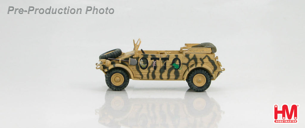 "HOBBYMASTER HG1203 1/48 German Kubelwagen Type 82""OTTO""North Africa 1942 WWII Jeep"