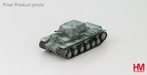 HOBBYMASTER HG3012 1/72 KV-1E Russian Heavy Tank unknown unit Leningrad sector winter 1942 Military Tank Diecast