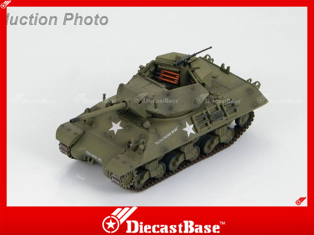 HOBBYMASTER HG3417 1/72 M10 US Tank Destroyer 'Pistol Packin Mama' of US TD School Texas 1943 Military Tank Car