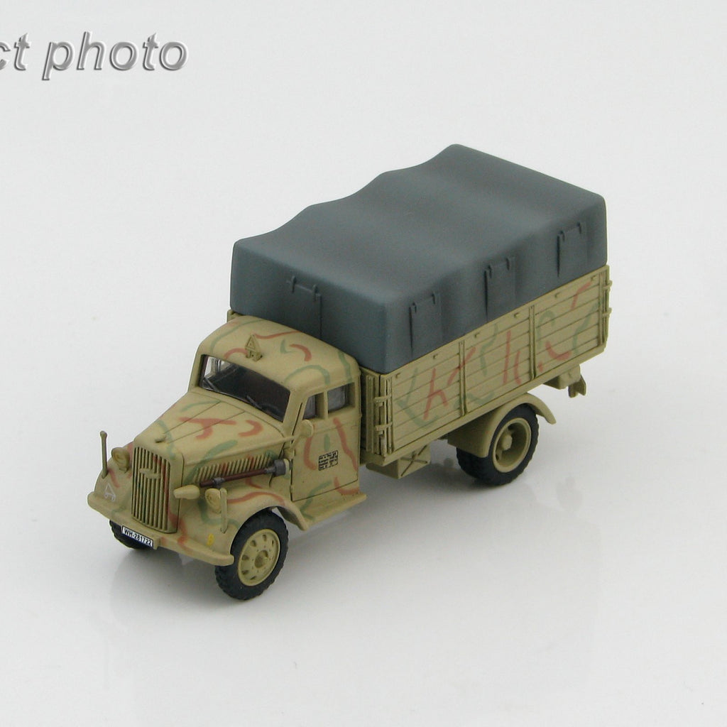 HOBBYMASTER HG3914 1/72 German Cargo Truck WH-281722 WWII Military Car