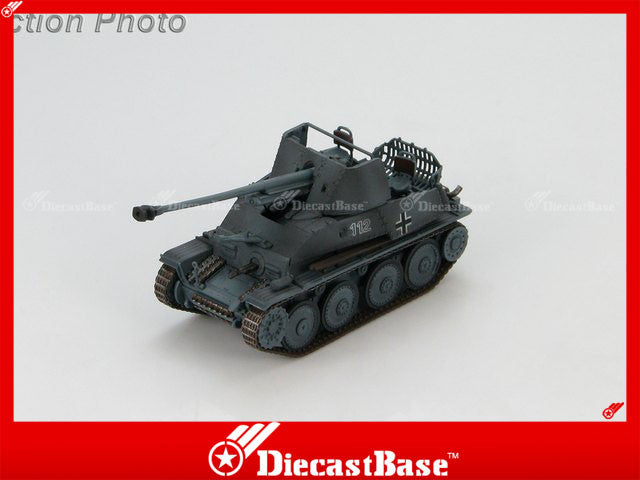 HOBBYMASTER HG4106 1/72 German Destroyer Marder III No.112 49th Panzerjager Abteilung 4th Panzer Division Eastern Front 1943 Military Tank Car