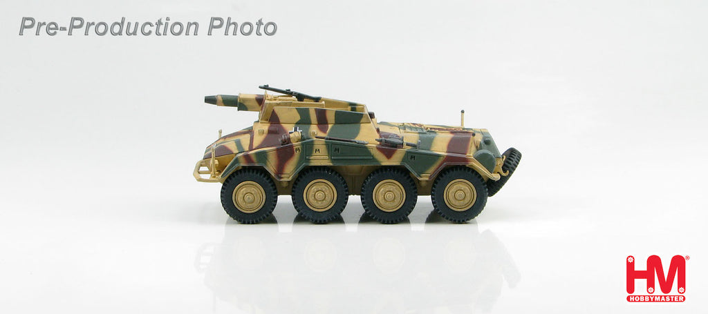 HOBBYMASTER HG4304 1/72 Puma Sd. Kfz. 234/3 226.Aufklarungs Abt. 116 Panzer Division Normandy 1944 Military Diecast Vehicles