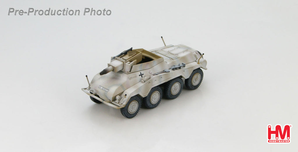 HOBBYMASTER HG4306 1/72 Sd. Kfz. 234/3 Schwerer Panzerspahwagen LSSAH in Hungary Feb 1945 Military Car