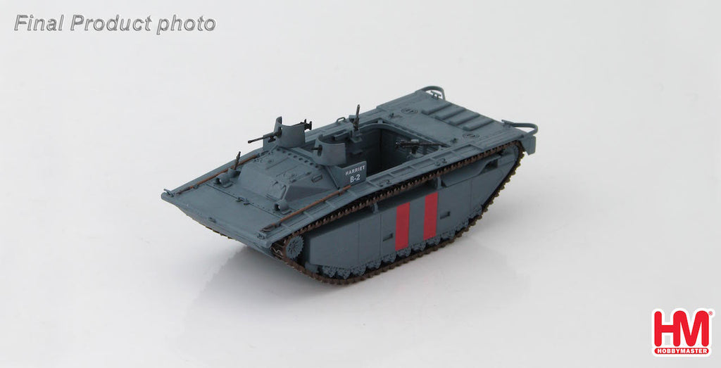HOBBYMASTER HG4410 1:72 LVT(A)-2 B Company 2nd Amtrac Bttn. Saipan 1944 Military Ground Vehicles Diecast