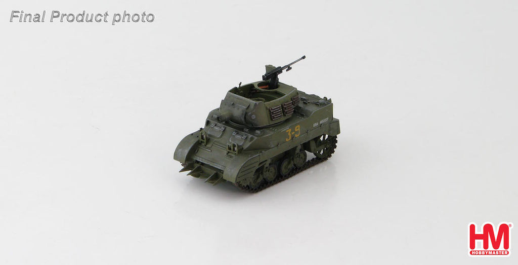 HOBBYMASTER HG4913 1:72 US M8 HMC 3rd Armored Div. Barenton France  August 1944 Military Ground Vehicles Tank Diecast
