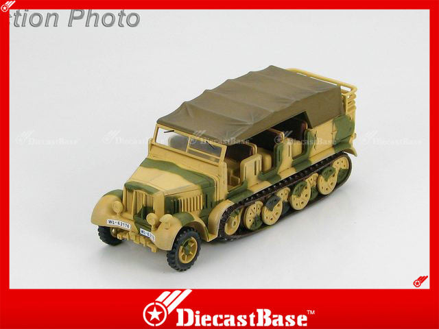 "HOBBYMASTER HG5003 1/72 Sd. Kfz.7 German 8 Ton Half Track ""WL-62176"" Luftwaffe WWII Military Car"