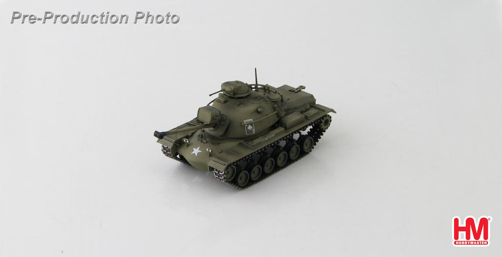 HOBBYMASTER HG5507 1/72 M48 M48A3 Patton MBT C Company 2nd Bttn. 34th Armor Operation Cedar Falls 1967 Military Diecast Tank