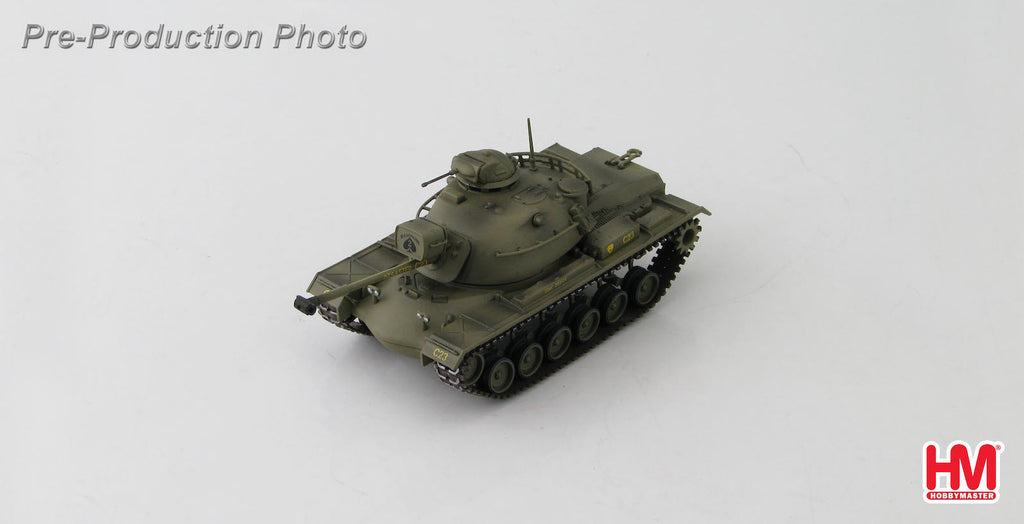 Die-Cast military tank Model M48 A3 Patton 2