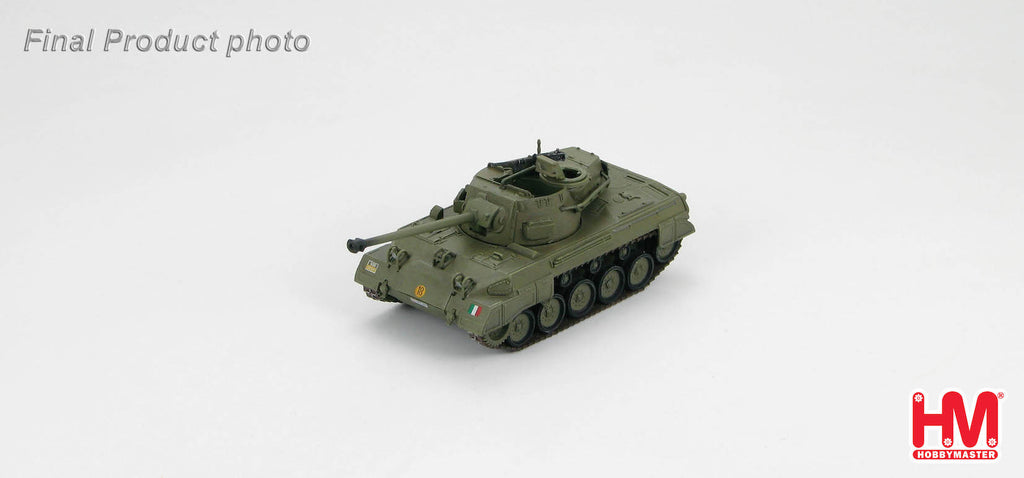 HOBBYMASTER HG6004 1/72 M18 Hellcat Tank Destroyer Italy Military Academy Military Tank Car