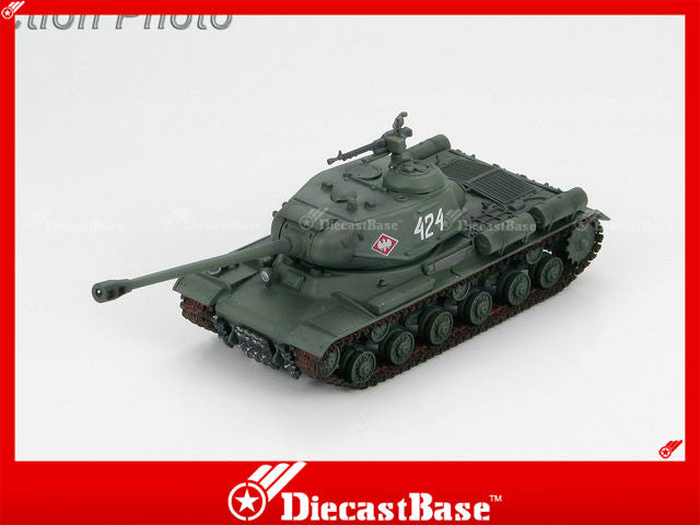 "HOBBYMASTER HG7003 1/72 Russian Heavy Tank JS-2m ""424"" 2nd Company of 4th Independent Heavy Tank Regt. 1st Polish Army Berlin Operation April 1945 Military Tank Car"