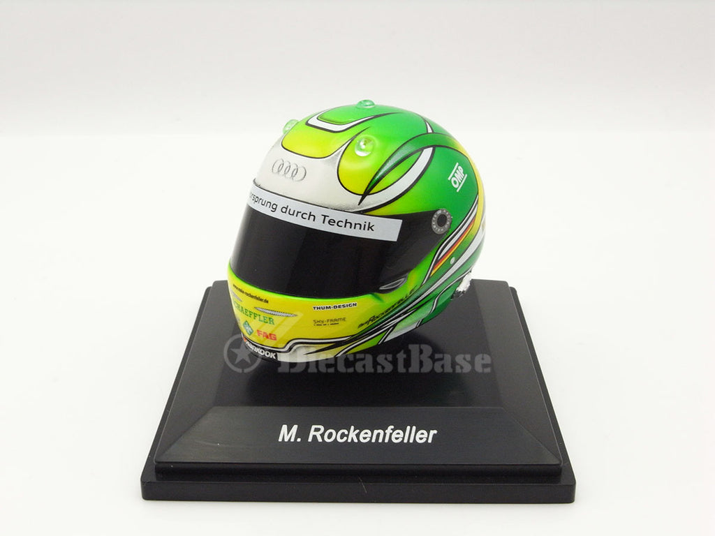Spark HLM010 1/8 Mike Rockenfeller Helmet Phoenix Racing Team Champion Deutsche Tourenwagen Masters DTM 2013 Model Accessories
