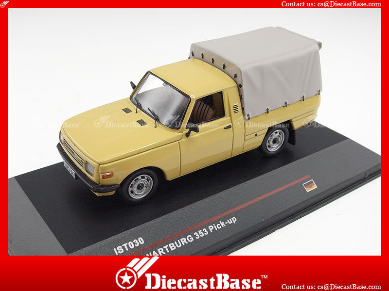 IST Models IST030 1/43 Wartburg 353 Pick-up 1977 Sand Germany Democratic Republic 1:43 Scale Diecast Model Road Car