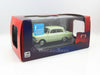 IST IST104 1/43 Moskwitch 412 1971 (square front light / post 1969 rear lghts) Light Green Diecast Model Road Car