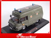 "IST Models IST170T 1/43 Barkas B1000 SMH-3 1985 ""NVA"" Germany Democratic Republic Emergency Diecast Model Road Car"