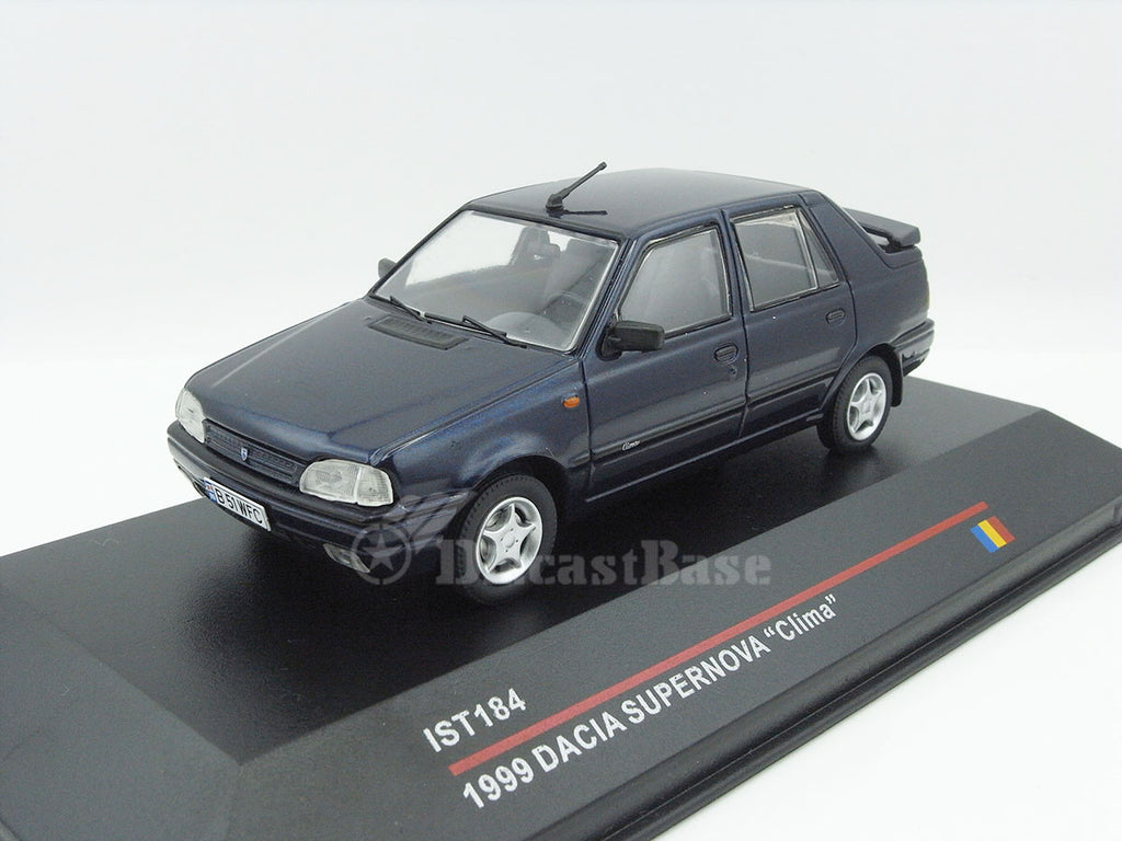 1/43 Dacia Supernova Clima IST IST184  ~ top view ~ taken by DiecastBase