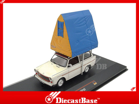 IST Models IST193 1/43 Trabant 601S Universal (Camping) 1980 Cream Germany Democratic Republic 1:43 Scale Diecast Model Road Car Truck