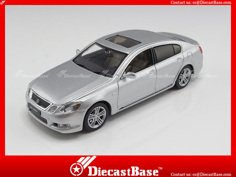J-Collection JC114 Lexus GS 450 Hybrid 2006 Premium Silver 1/43