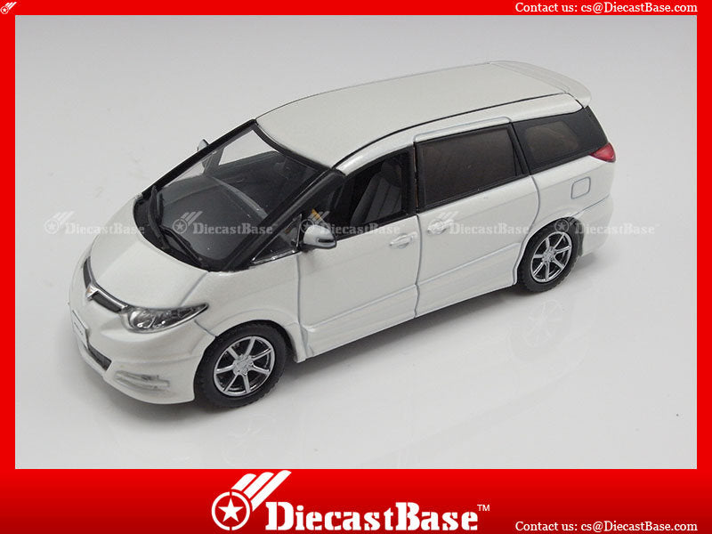 J-Collection JC133 Toyota Previa GL 2006 White Pearl Metallic 1/43