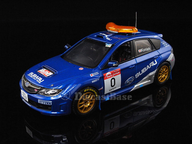 J-Collection JC230 1/43 Subaru Impreza WRX STi #0 Rally Japan 2008 Diecast Model Racing Car