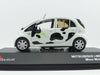 J Collection JC288 1/43 Mitsubishi i-MiEV 2012 Moo Moo Edition - Innovative Electric Vehicle Diecast Model Road Car