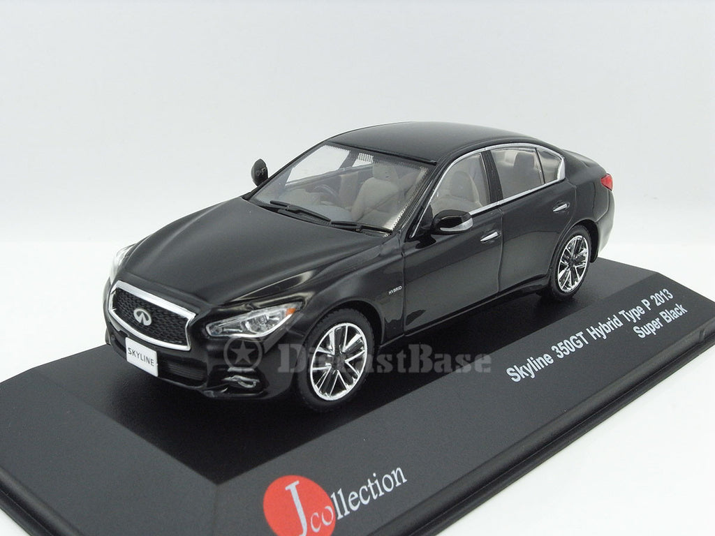 1/43 Nissan Skyline 350GT Hybrid Type P J Collection JC290  ~ top view ~ taken by DiecastBase