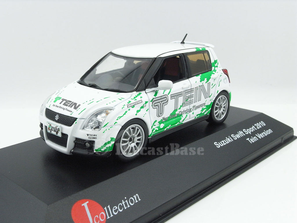 1/43 Suzuki Swift Sport J Collection JC303  ~ top view ~ taken by DiecastBase