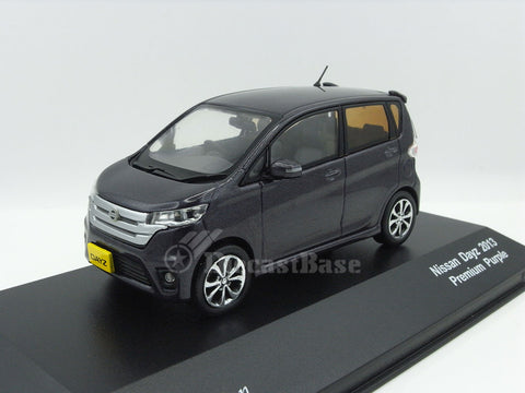 J Collection JC304 1/43 Nissan Dayz 2013 Purple Diecast Japanese Model Road Car