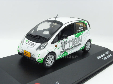 J Collection JC305 1/43 Mitsubishi i-MiEV 2010 TEIN Version - Innovative Electric Vehicle Diecast Model Road Car