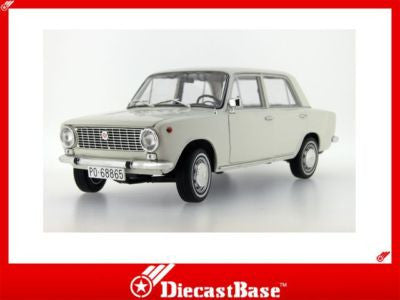 IST Models IST18001SE 1/18 Seat 124 Off White Spain 1972 1:18 Scale Diecast Model Road Car