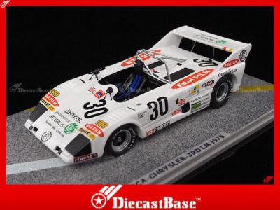 BIZARRE BZ148 1/43 Lola T292 No.30 24 Hours of Le Mans 1975 Jean-Marie Lemerle Team LM Resin Model Racing Car