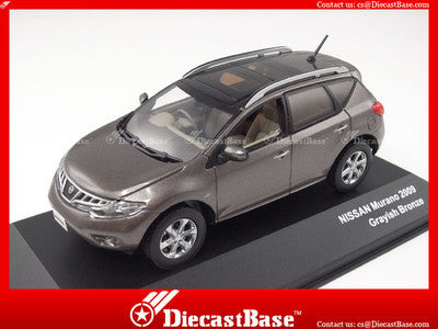 J-Collection JC106 Nissan Murano 2009 Grayish Bronze Diecast Road Car 1:43