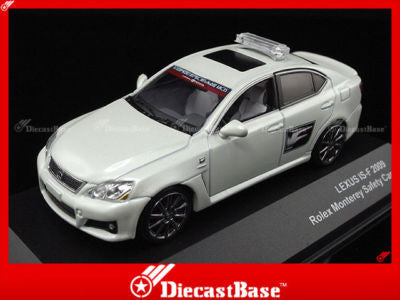 J-Collection JC121 Lexus IS-F Rollex Monterey Safety Car 2009 Diecast Road 1:43