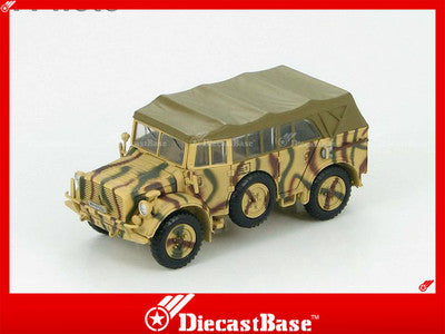 HG4503 HOBBYMASTER German Horch 1a Eurpopean Theatre WWII 1943 vehicle 1:72
