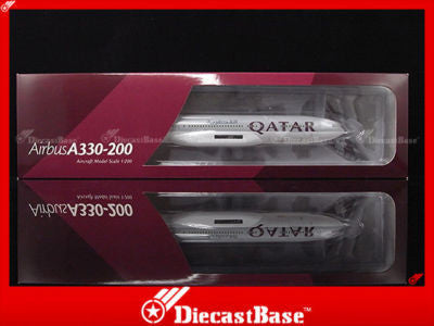 Hogan Wings HG2421GR 1/200 Qatar Airways Airbus A330-200 1:200 Commercial Aircraft Snap-fit Plane Model